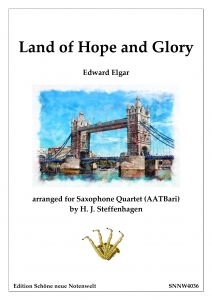 Edward-Elgar---Land-of-Hope-and-Glory----Saxophone-Quartet---pdf