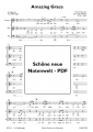 Bild 2 von Amazing Grace 3-part mixed choir - pdf