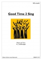 Good Time 2 Sing  (Chor-SAB) - pdf