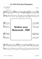 Go Tell It On the Mountain (Piano Solo) - pdf