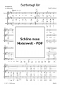 Scarborough Fair (Chor-SAB) - pdf