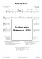 Amazing Grace Easy Guitar - pdf