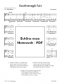 Scarborough Fair (Easy Piano) - pdf