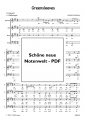 Greensleeves (Chor-SATB) - pdf