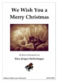 We Wish You a Merry Christmas - Klavier leicht
